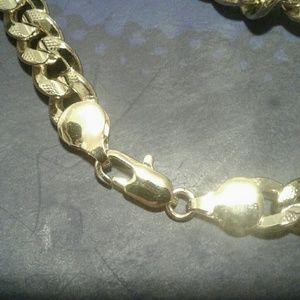 Unknown Accessories - 2 for $25 Gold Thick Men's Chain Bracelet